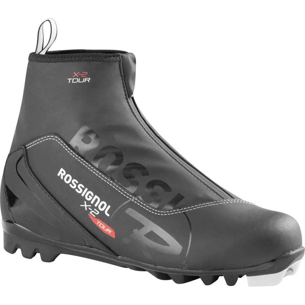 ROSSIGNOL Men's X-2 NNN Ski Boots - BLACK