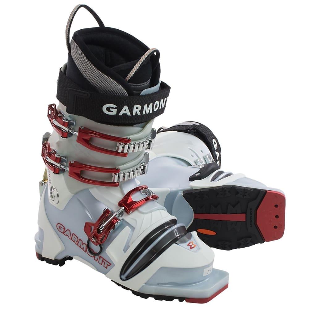 GARMONT Women's Minerva Telemark Ski Boots - BLUE/WHITE