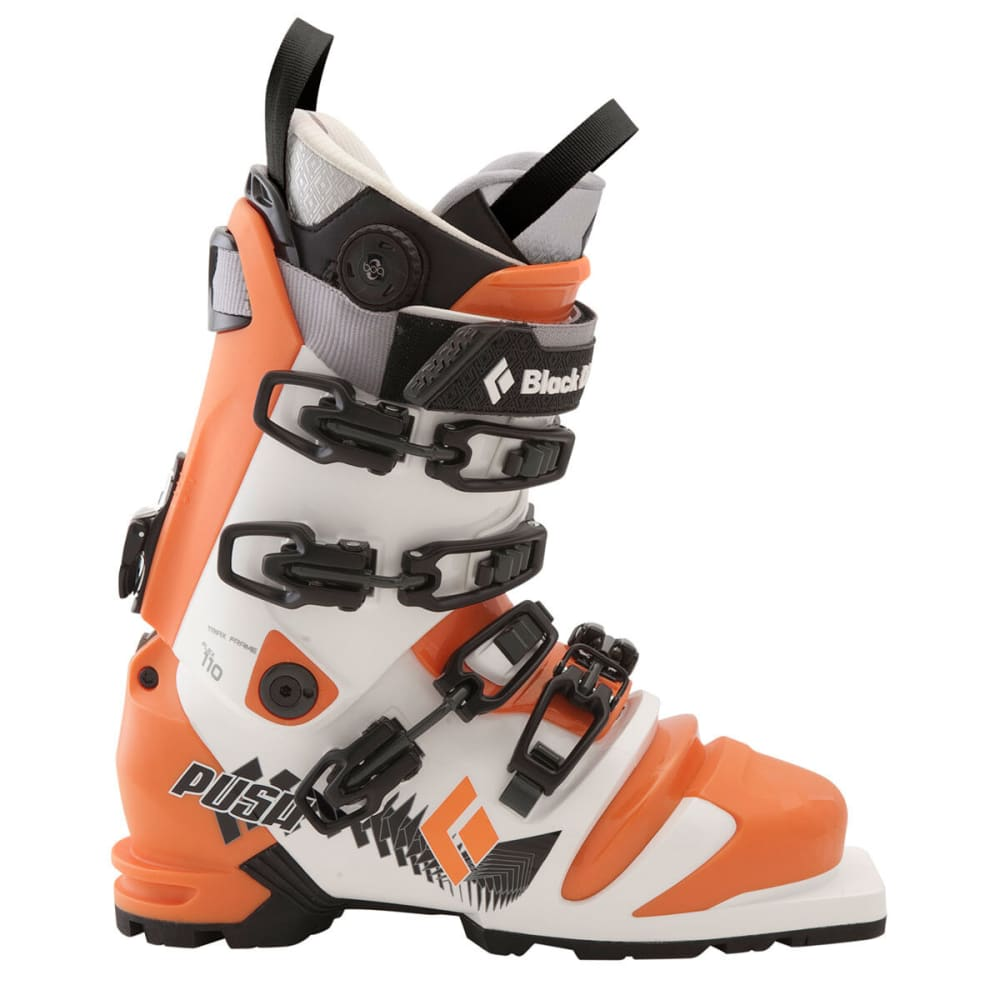 BLACK DIAMOND Push Telemark Ski Boots - ORANGE