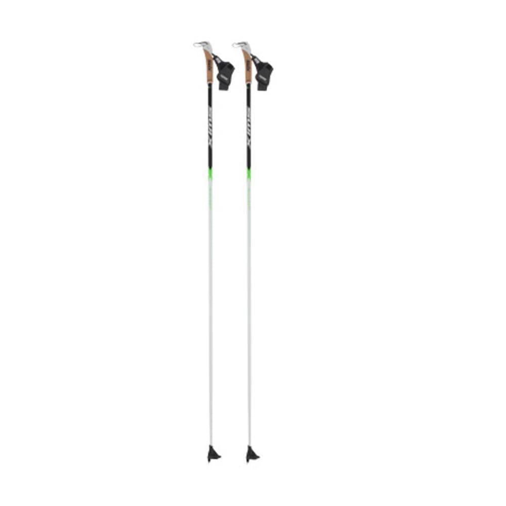 SWIX Alu Lite X-Fit Ski Poles - BLACK/WHITE