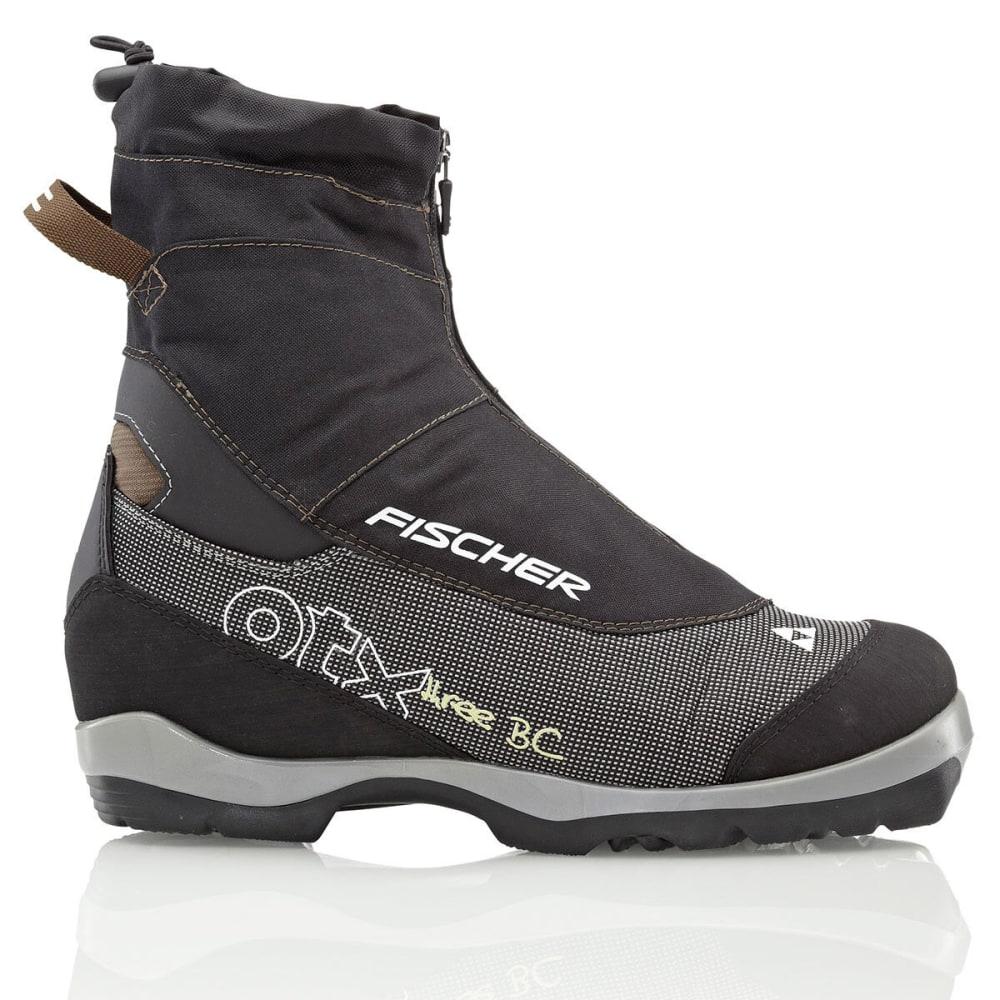 FISCHER Men's Offtrack 3 BC Ski Boots - BLACK/BROWN