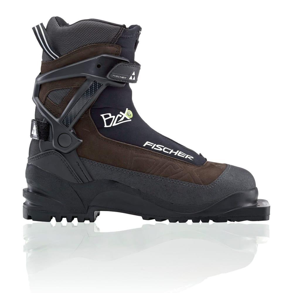 FISCHER Men's BCX 675 Ski Boots - BROWN/BLACK