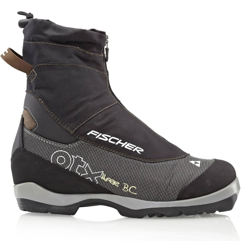 FISCHER Men's Offtrack 3 BC Ski Boots - BLACK/BROWN