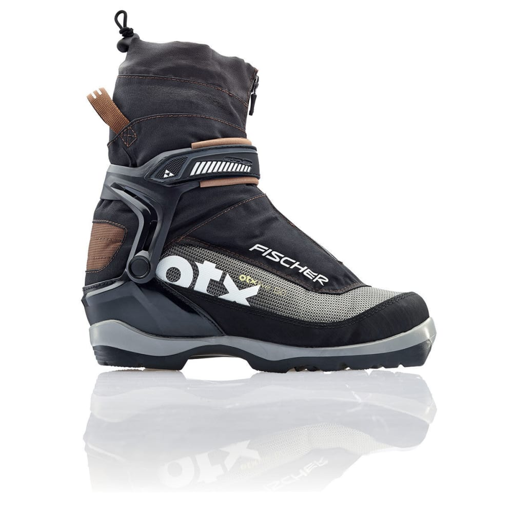 FISCHER Men's Offtrack 5 BC Ski Boots - BLACK/BROWN