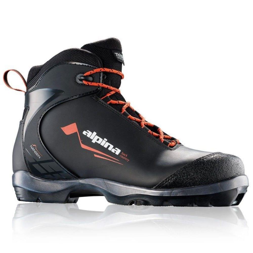 ALPINA Crossfield NNN BC Ski Boots - BLACK