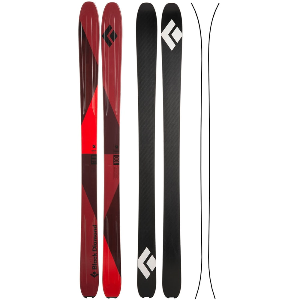 BLACK DIAMOND Boundary 100 Skis - RED