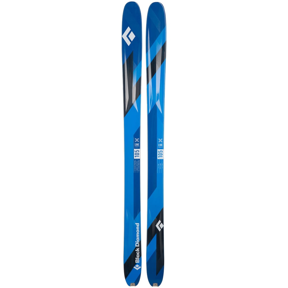 BLACK DIAMOND Link 105 Skis - BLUE
