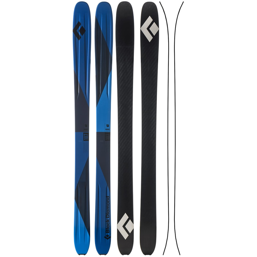 BLACK DIAMOND Boundary 107 Skis - BLUE