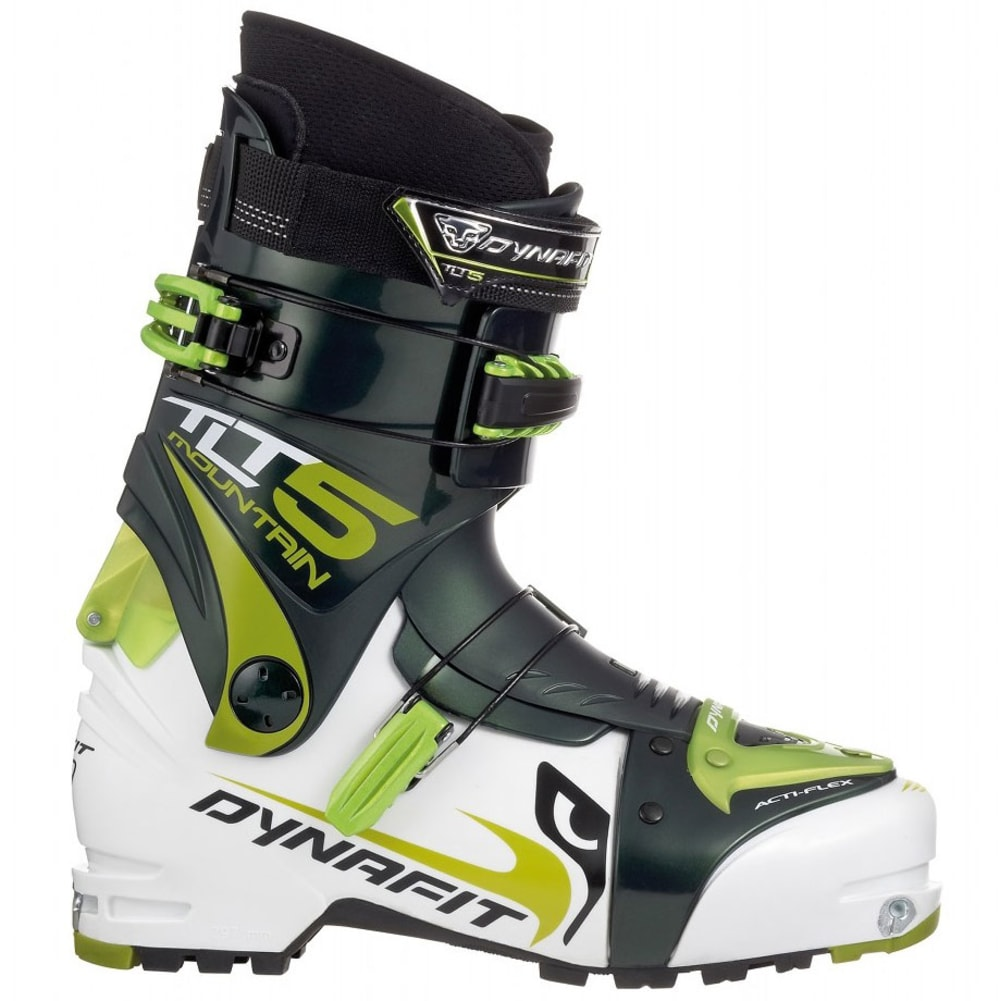DYNAFIT TLT 5 Mountain TF-X Ski Boots - WHITE/GREEN