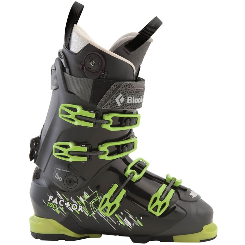 BLACK DIAMOND Men's Factor 130 Ski Boots - DARK GREEN