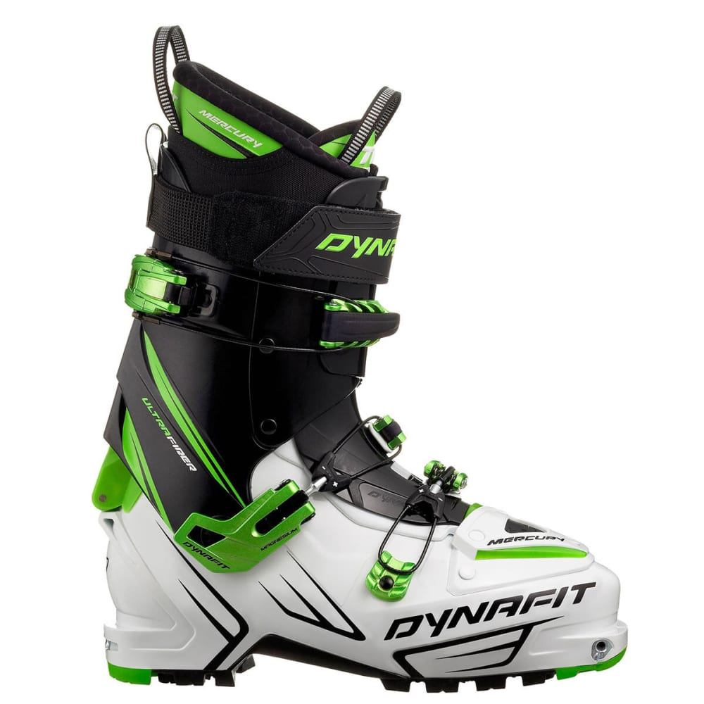 DYNAFIT Mercury TF AT Ski Boots - WHITE/BLACK