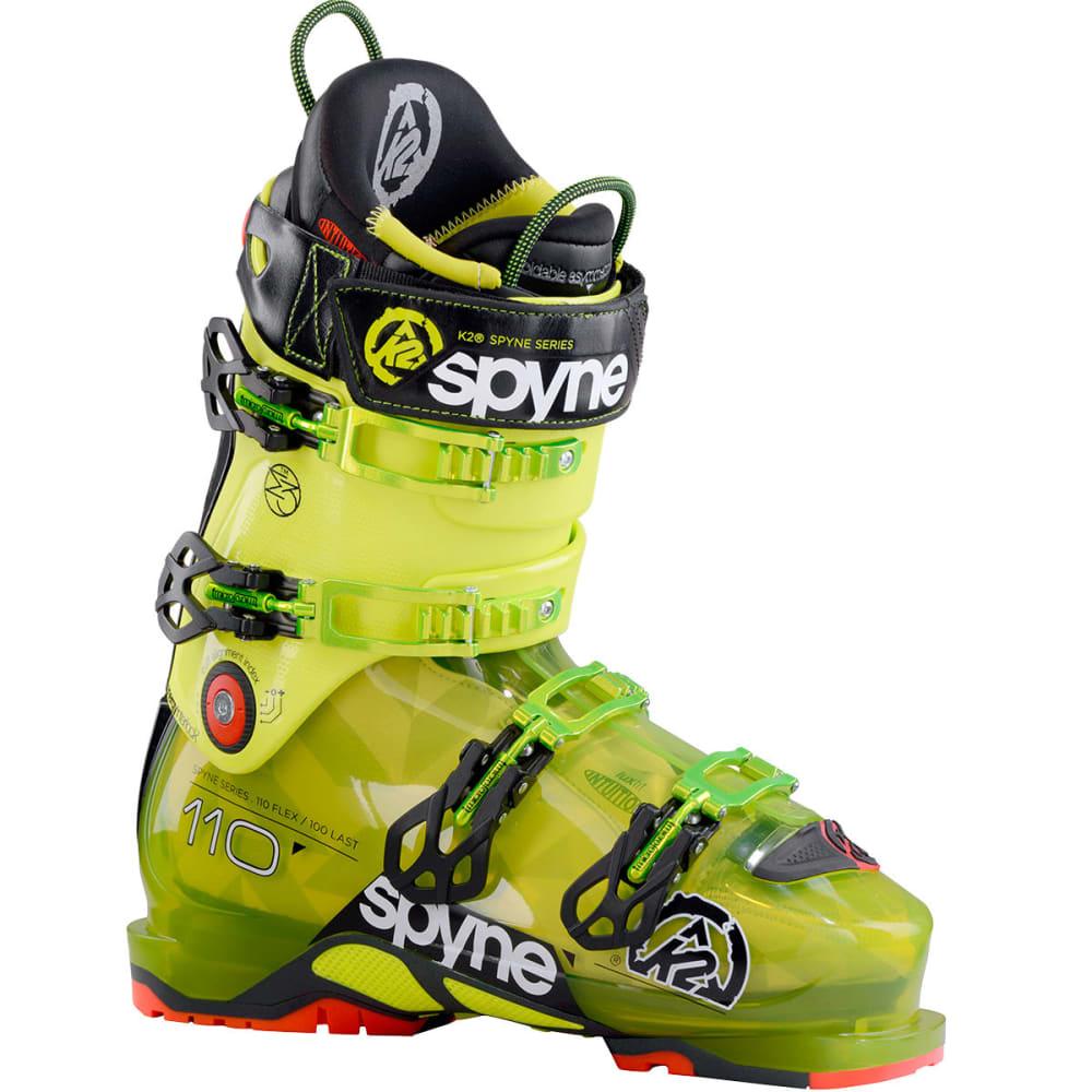 K2 SpYne 110/110 HV Ski Boots - YELLOW