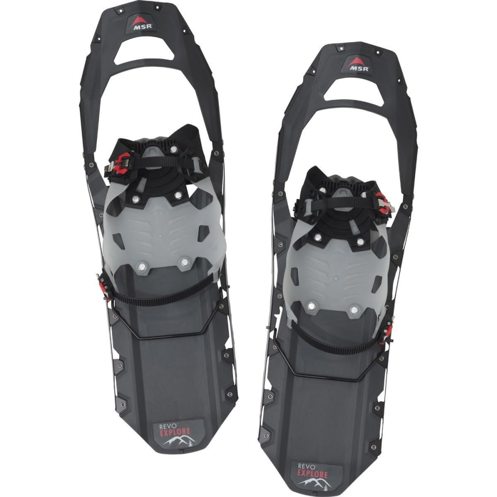 MSR Men's Revo Explore 25 Snowshoes, Black - BLACK