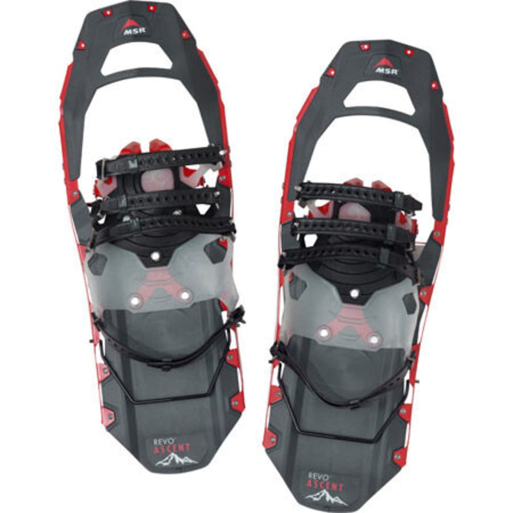 MSR Men's Revo Ascent 22 Snowshoes, Red  - RED
