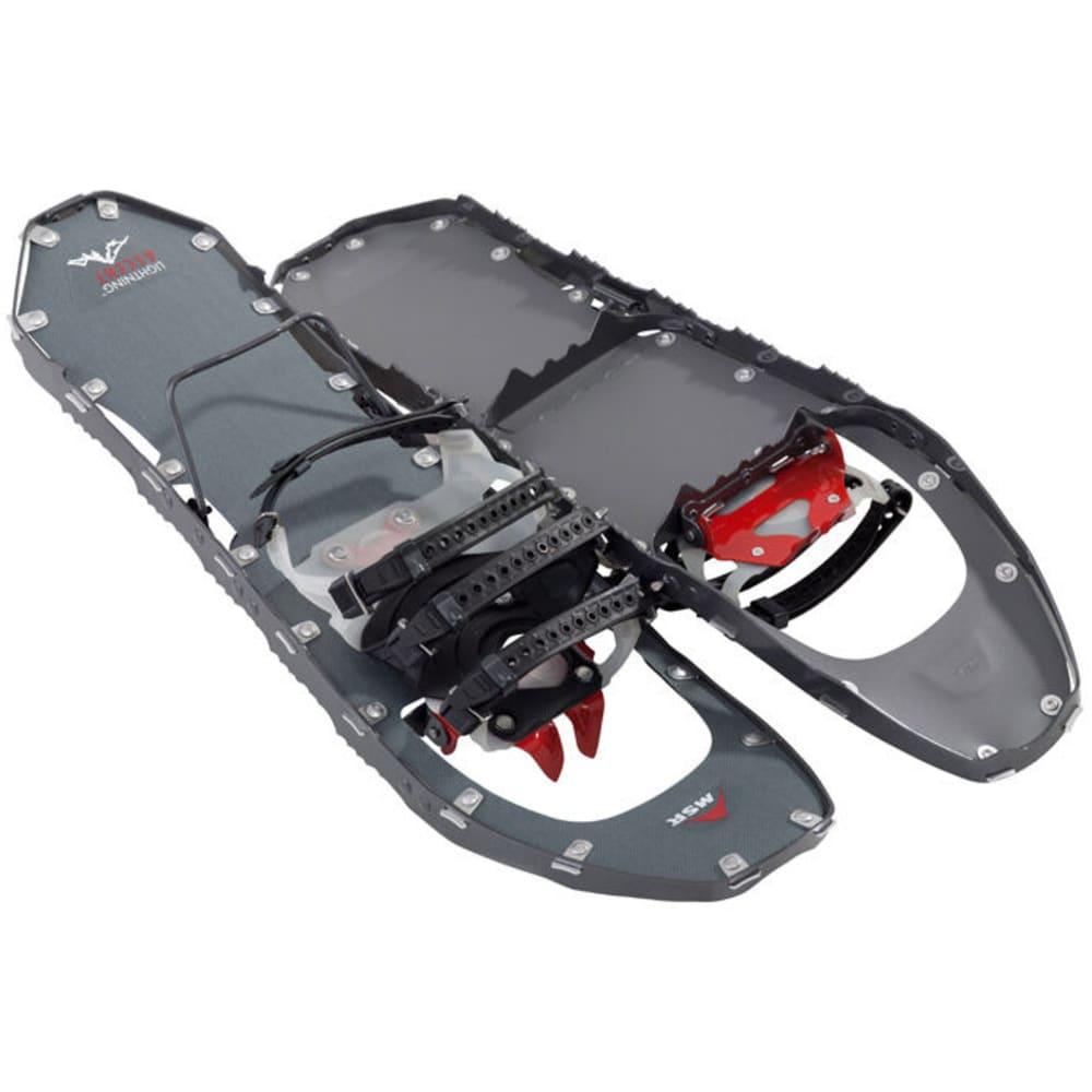 MSR Women's Lightning Ascent 25 Snowshoes, Gunmetal - GUNMETAL