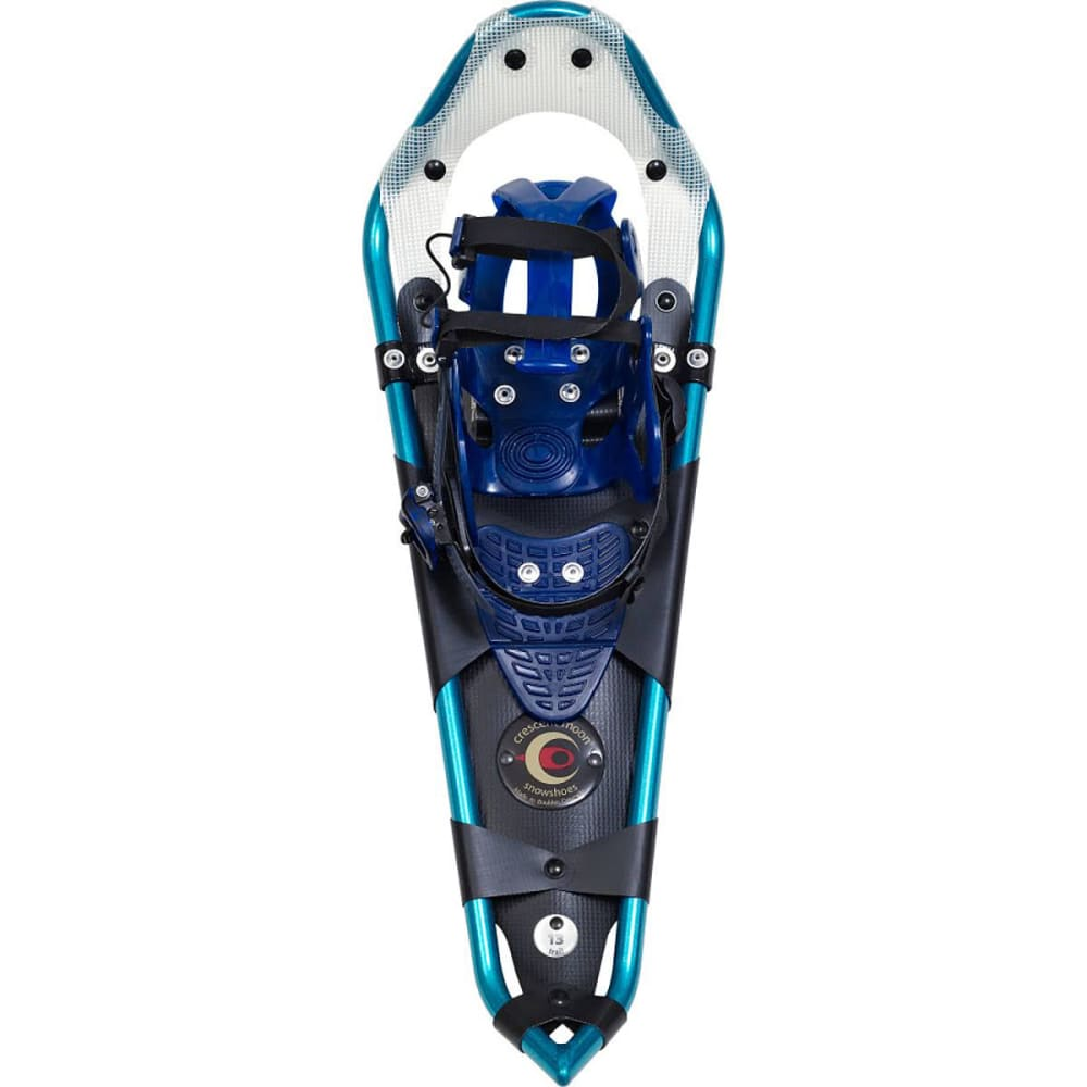 CRESCENT MOON Women's Gold 13 Snowshoes - TEAL