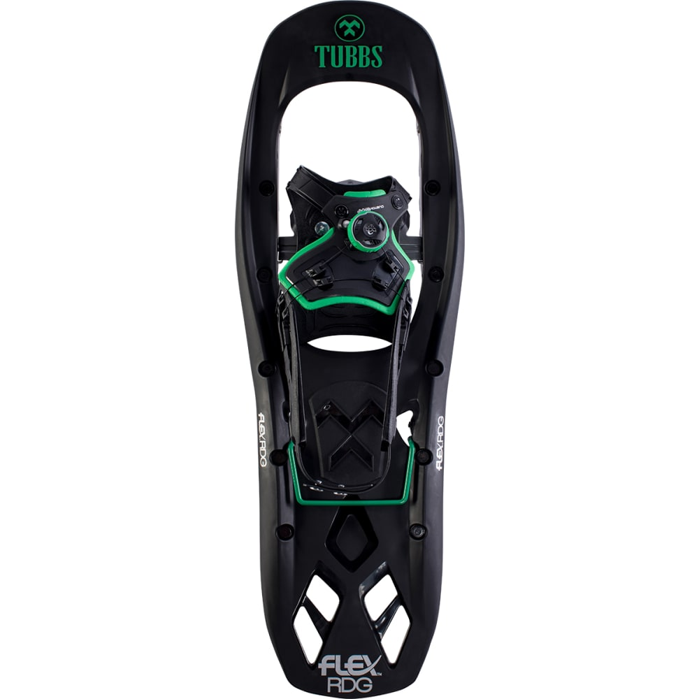 TUBBS Men's Flex RDG Snowshoe - BLACK/GREEN
