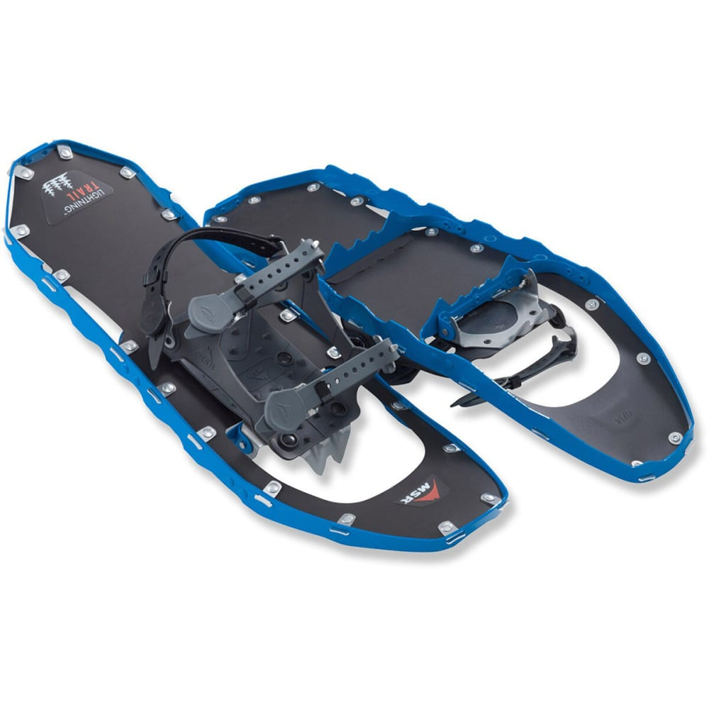 MSR Women's Lightning Trail 22 Snowshoes, Purple - LAZULI BLUE