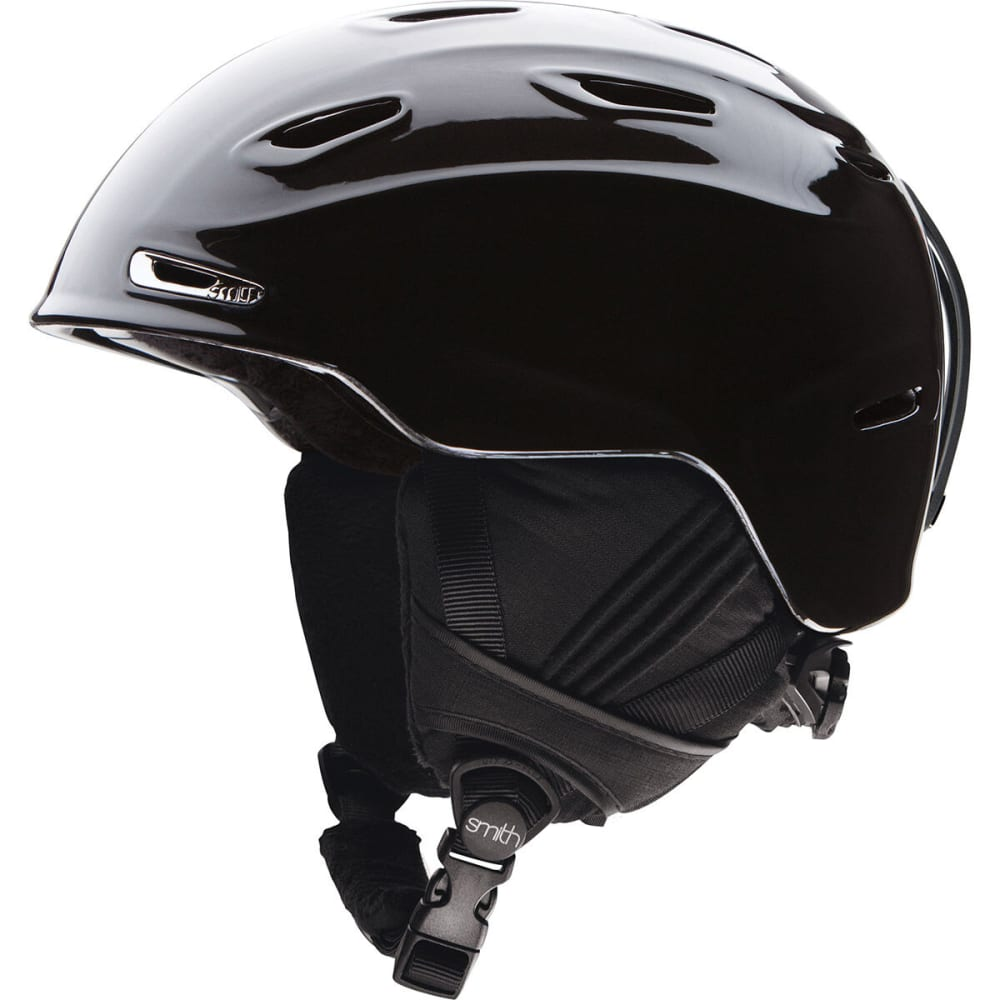 SMITH Women's Arrival Snow Helmet, Metallic Black - BLACK