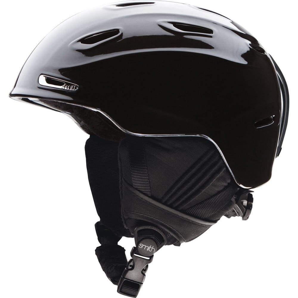 SMITH Women's Arrival Snow Helmet, Metallic Black - BLACK