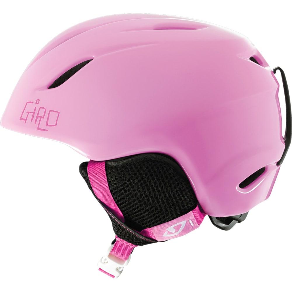 GIRO Kids' Launch Snow Helmet, Pink Cats - PINK