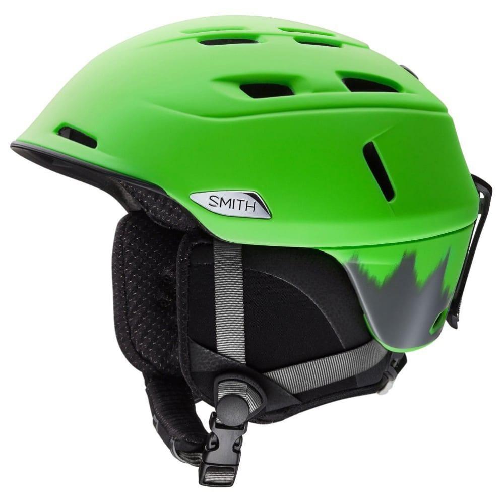 SMITH Men's Camber Helmet - GREY/LIME