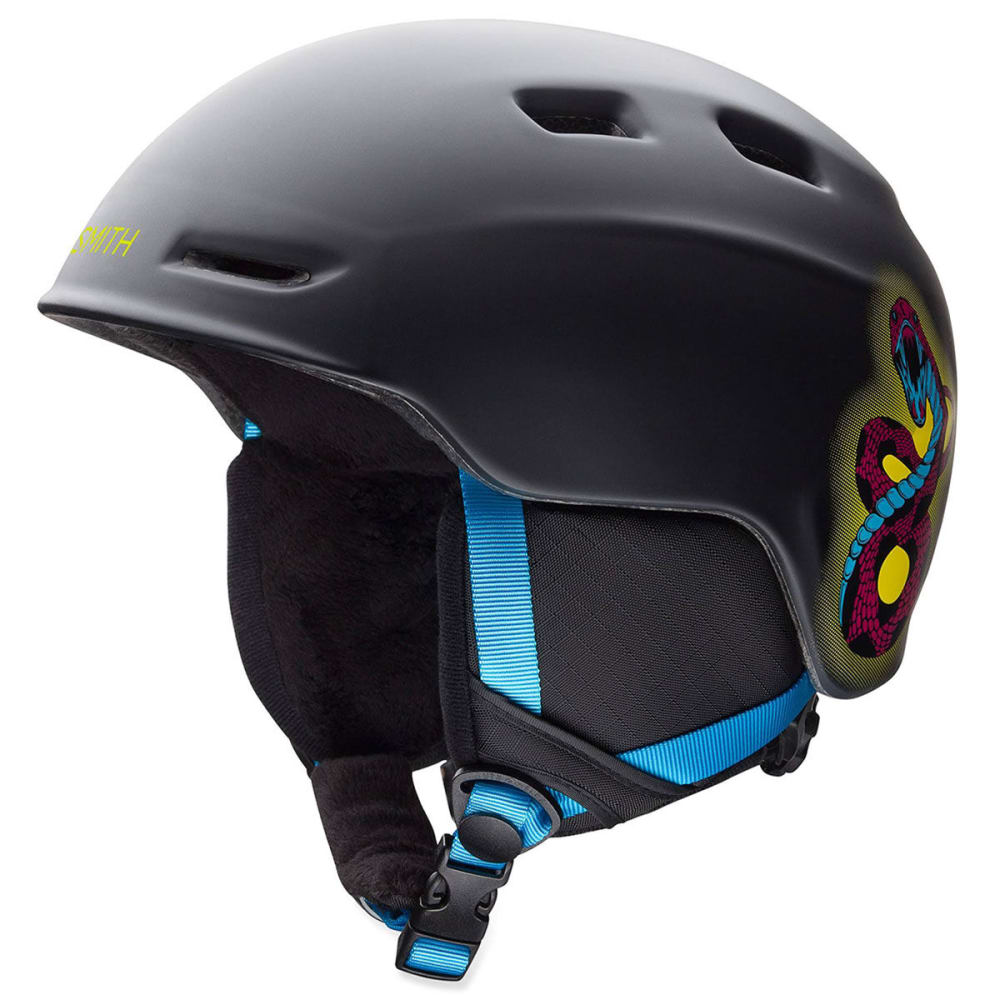 SMITH Kid's Zoom Helmet - BLACK