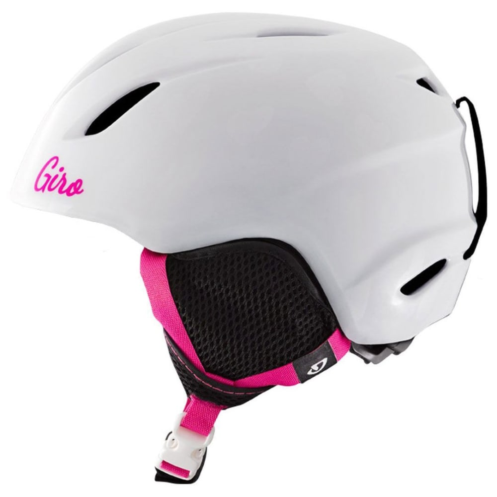 GIRO Kids' Launch Helmet - WHITE HEARTS