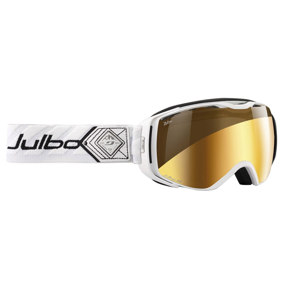JULBO Universe Snow Goggles with Zebra Lens, White/Black - WHITE/BLACK