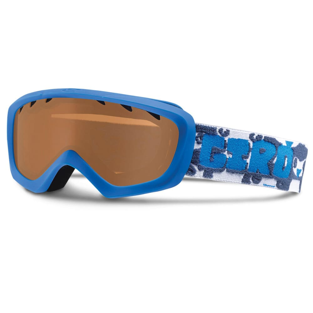 GIRO Kids' Chico Snow Goggles, Blue Penguins - BLUE