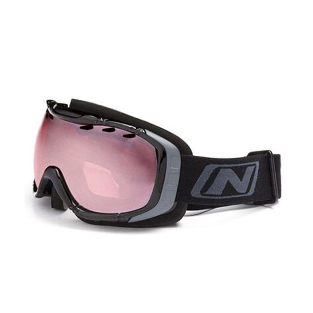 OPTIC NERVE Columbine Snow Goggles, Black Out Rose - BLACK