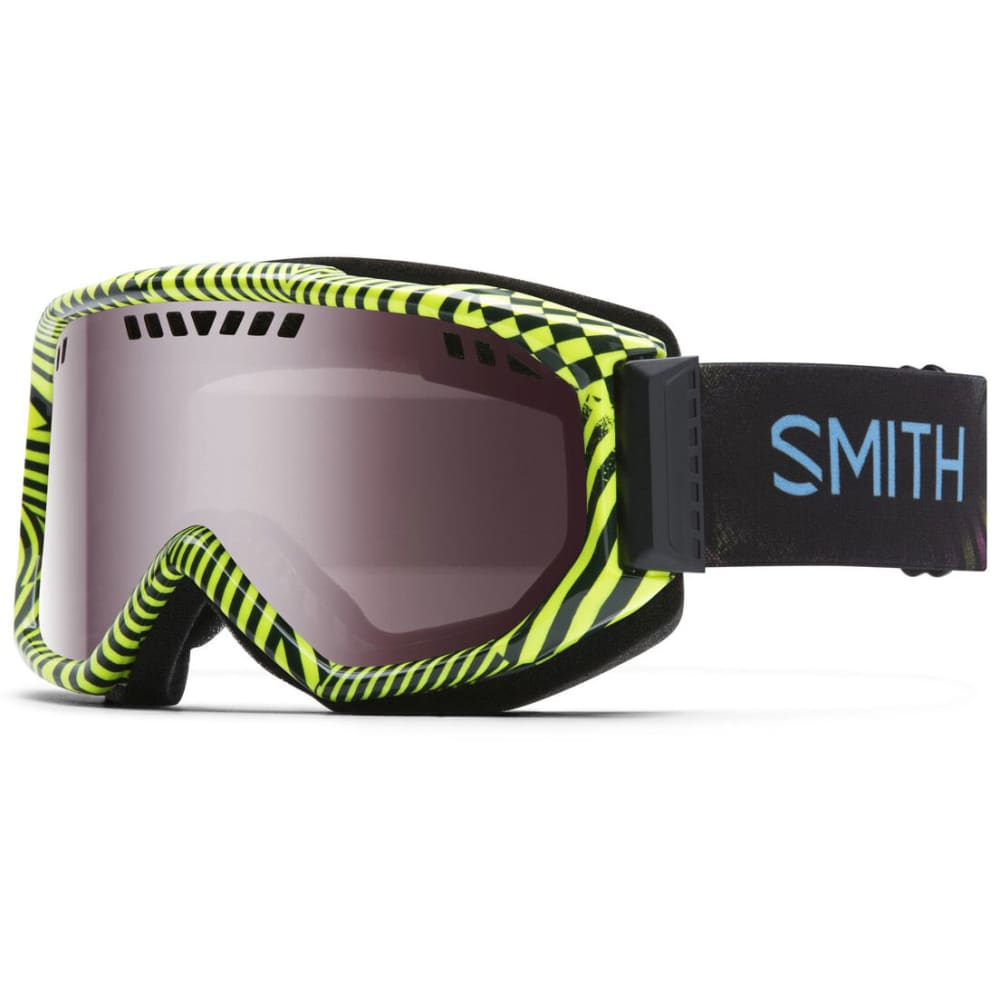 SMITH Men's Scope Goggles with Neon Blacklight Lenses - BLACK