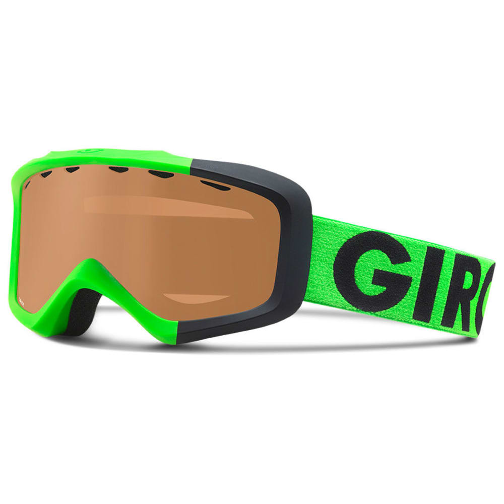 GIRO Kids' Grade Goggles - BLACK/LIME