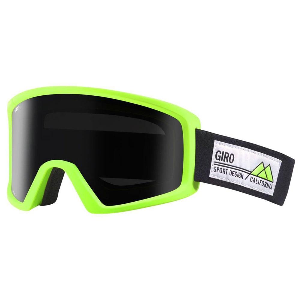GIRO Men's Blok™ Highlight Goggles - LIME/BLACK