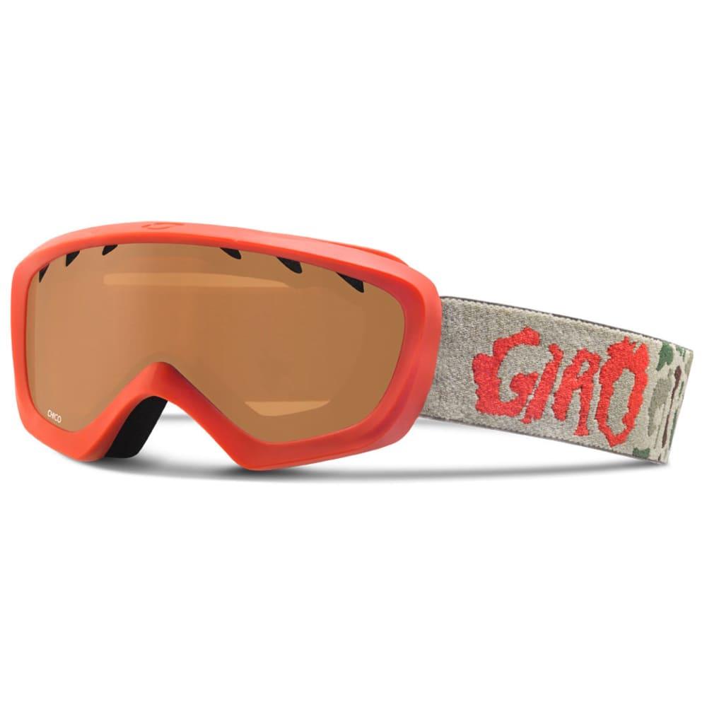 GIRO Little Kids' Chico Goggles - RED/CAMO