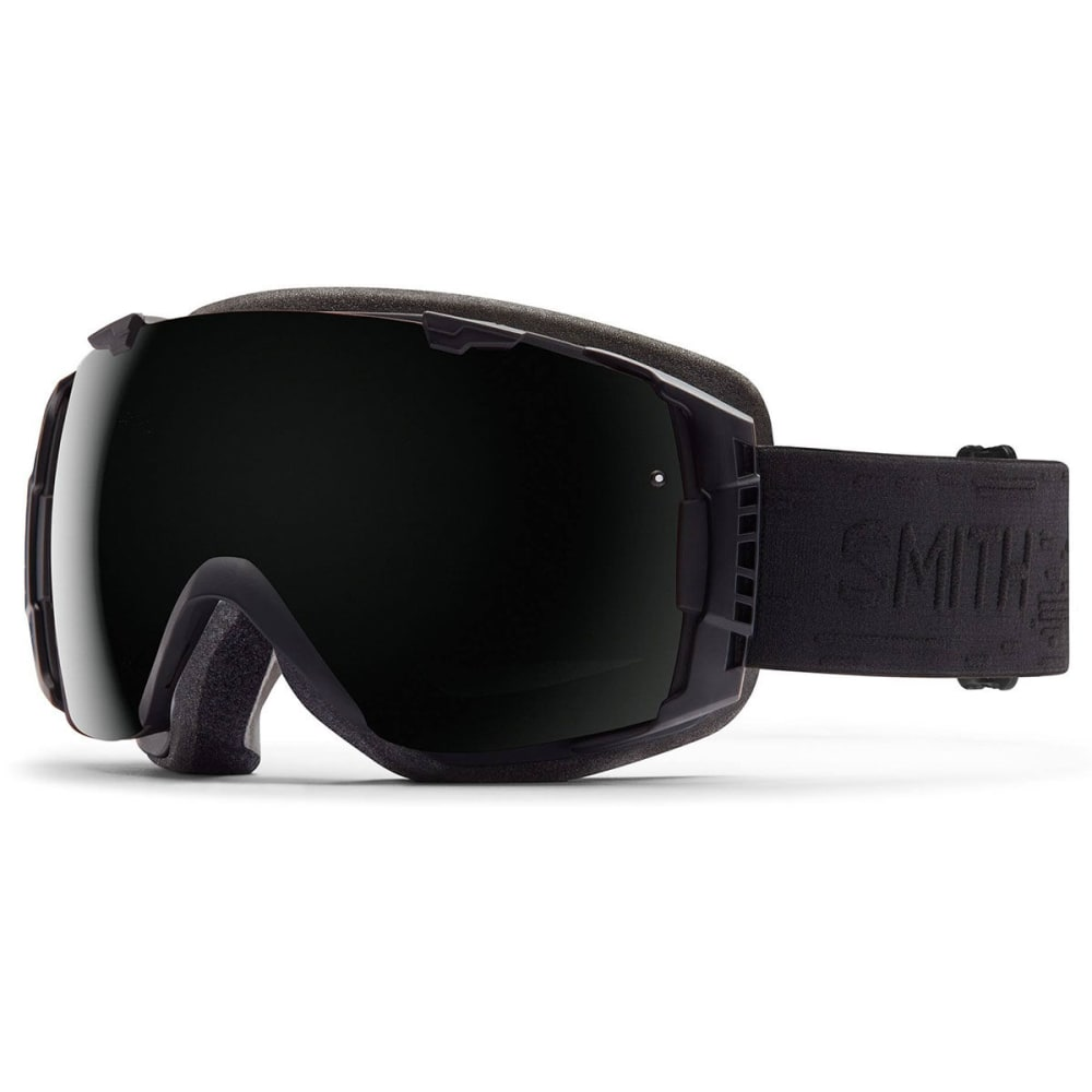 SMITH I/O Interchangeable Goggles, Black Interceptor - BLACK