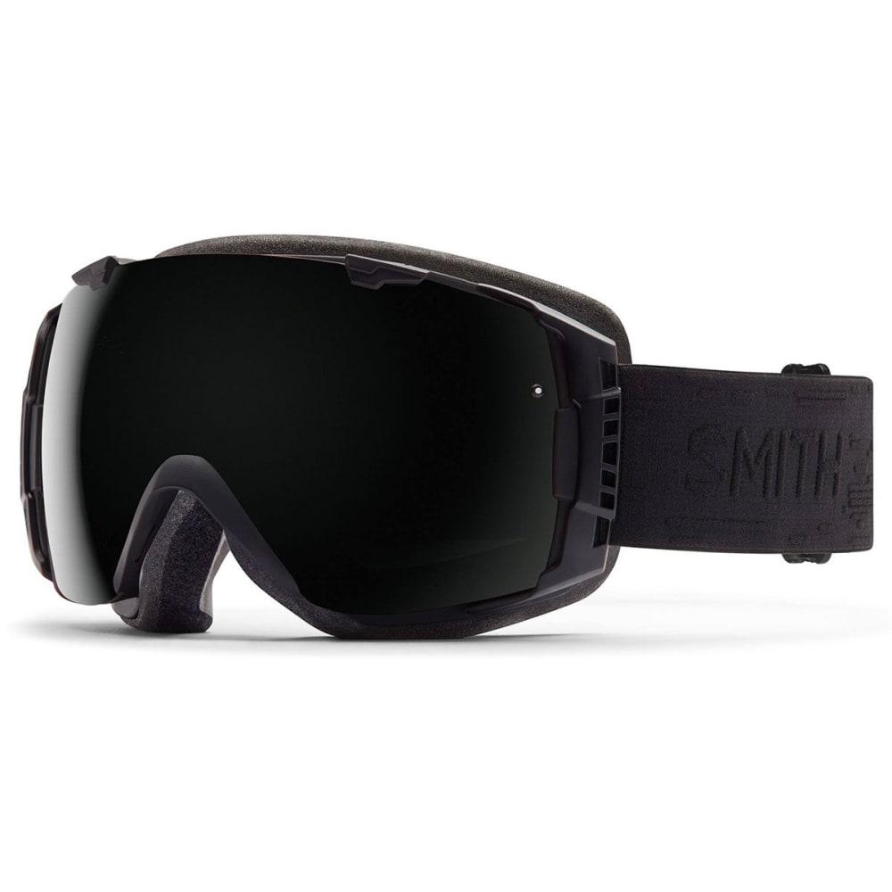 SMITH I/O Interchangeable Goggles, Black Interceptor - BLACK