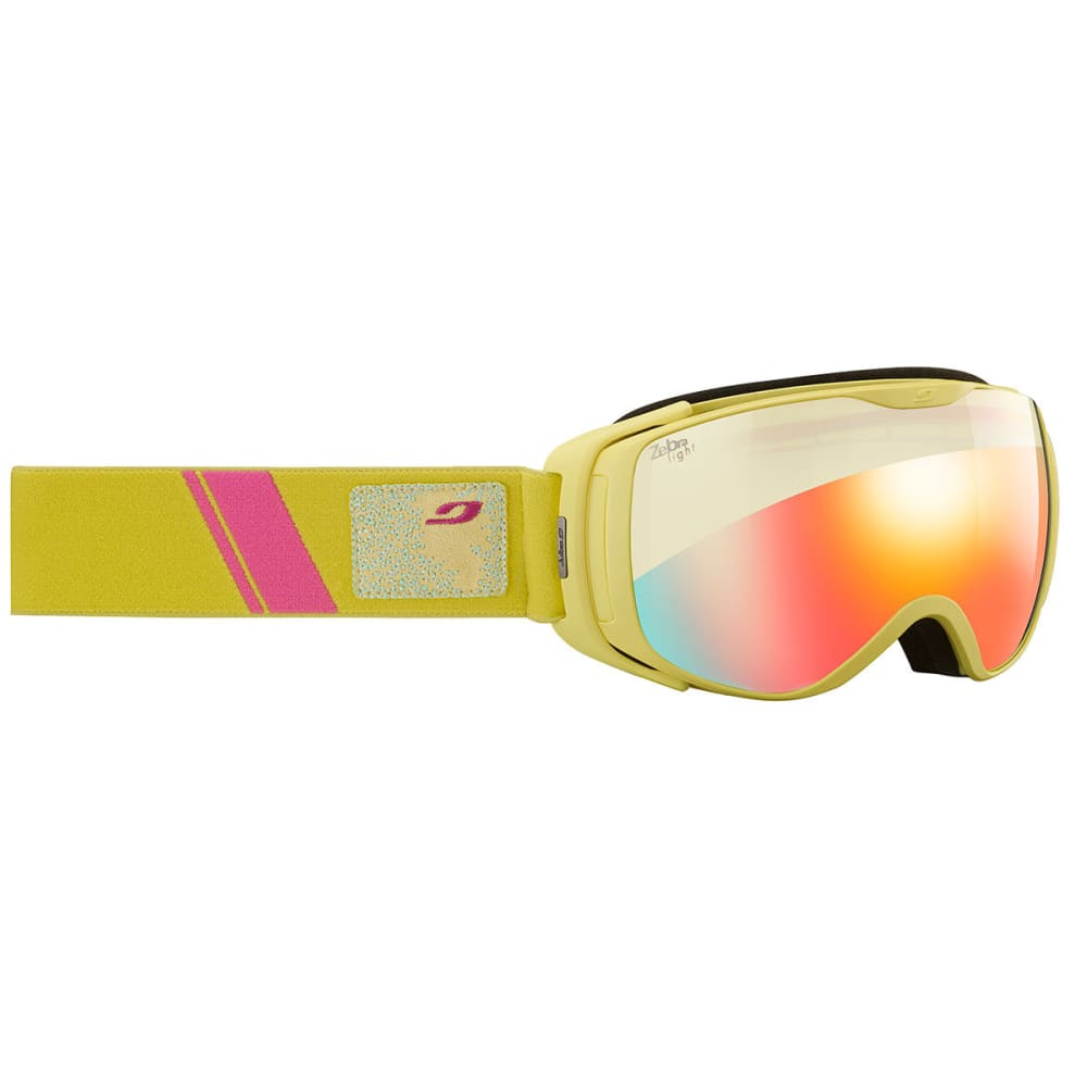 JULBO Women's Luna Goggles - YELLOW/ ZEBRA LIGHT