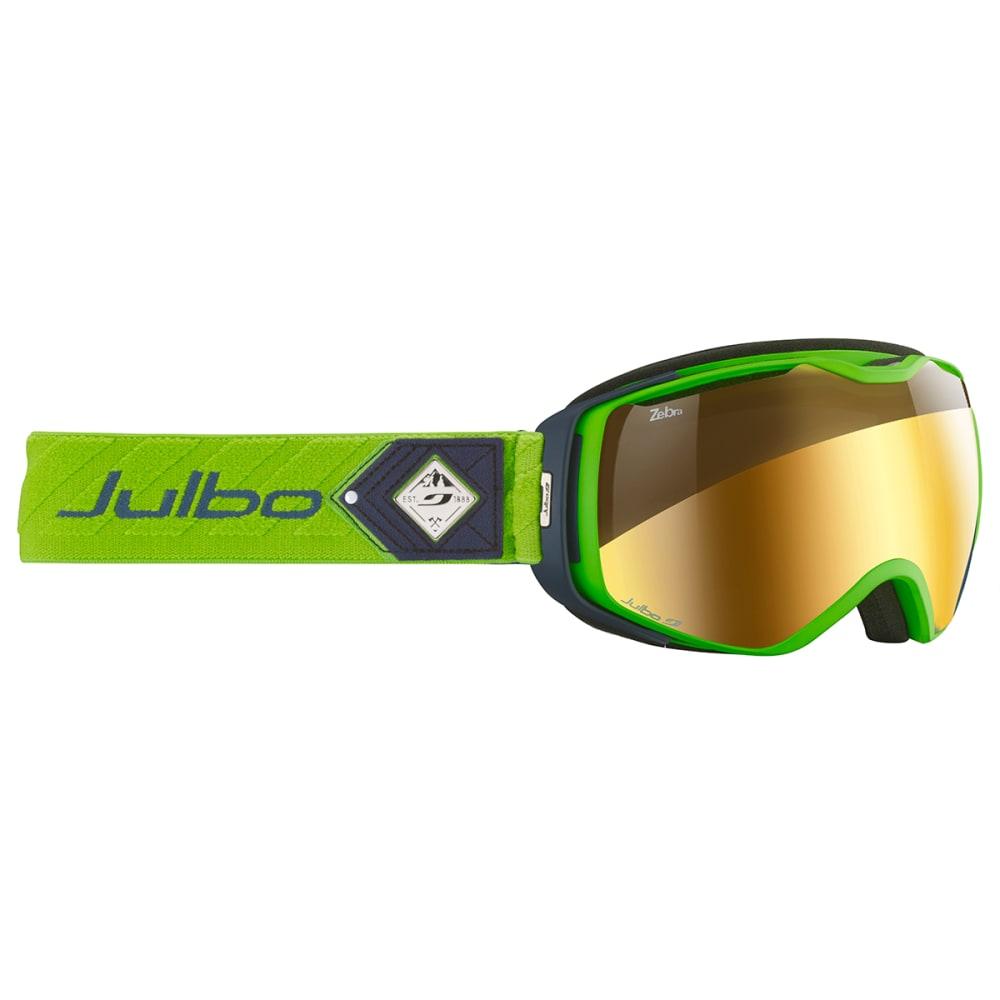 JULBO Universe Goggles - GREEN / DARK BLUE /