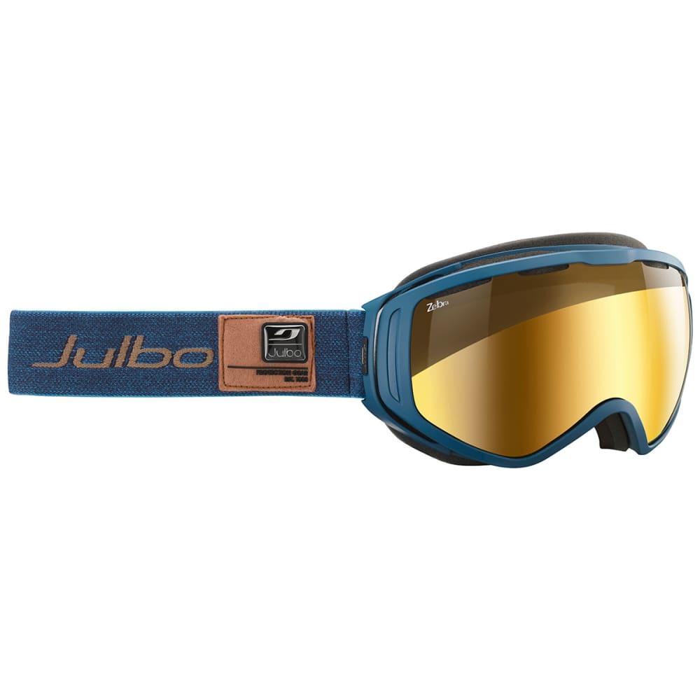 JULBO Titan Zebra Light Lens Goggles - BLUE/ ZEBRA GOLD FLA