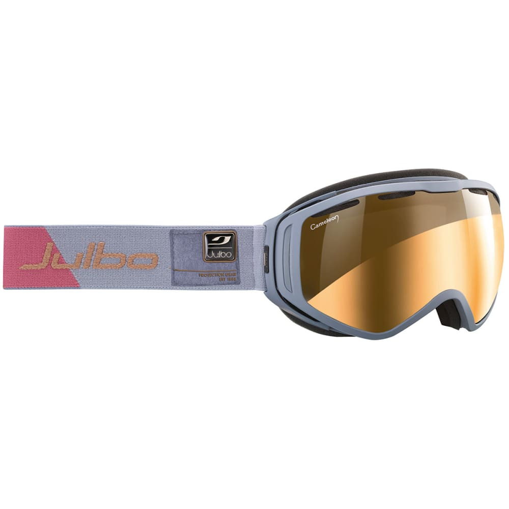 JULBO Titan Over The Glasses Foam Goggles - GREY/ SNOW TIGER SIL