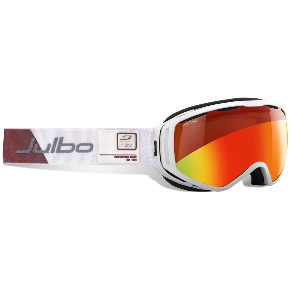 JULBO Titan Over The Glasses Foam Goggles - WHITE/ SNOW TIGER MU