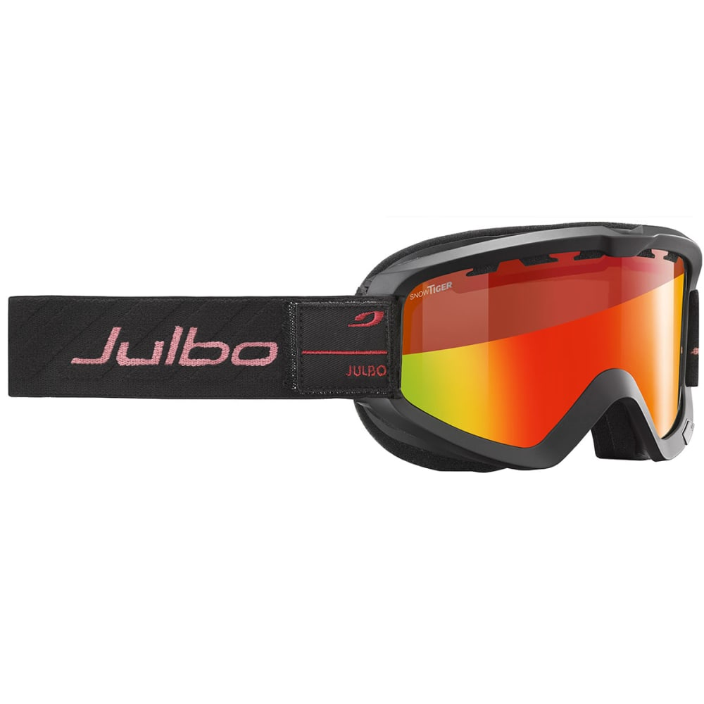 JULBO Bang Next Over The Glasses Goggles - BLACK/ RED/ SNOW TIG