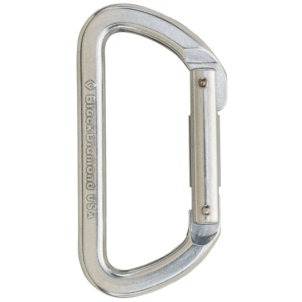 BLACK DIAMOND Light D Carabiner - NONE