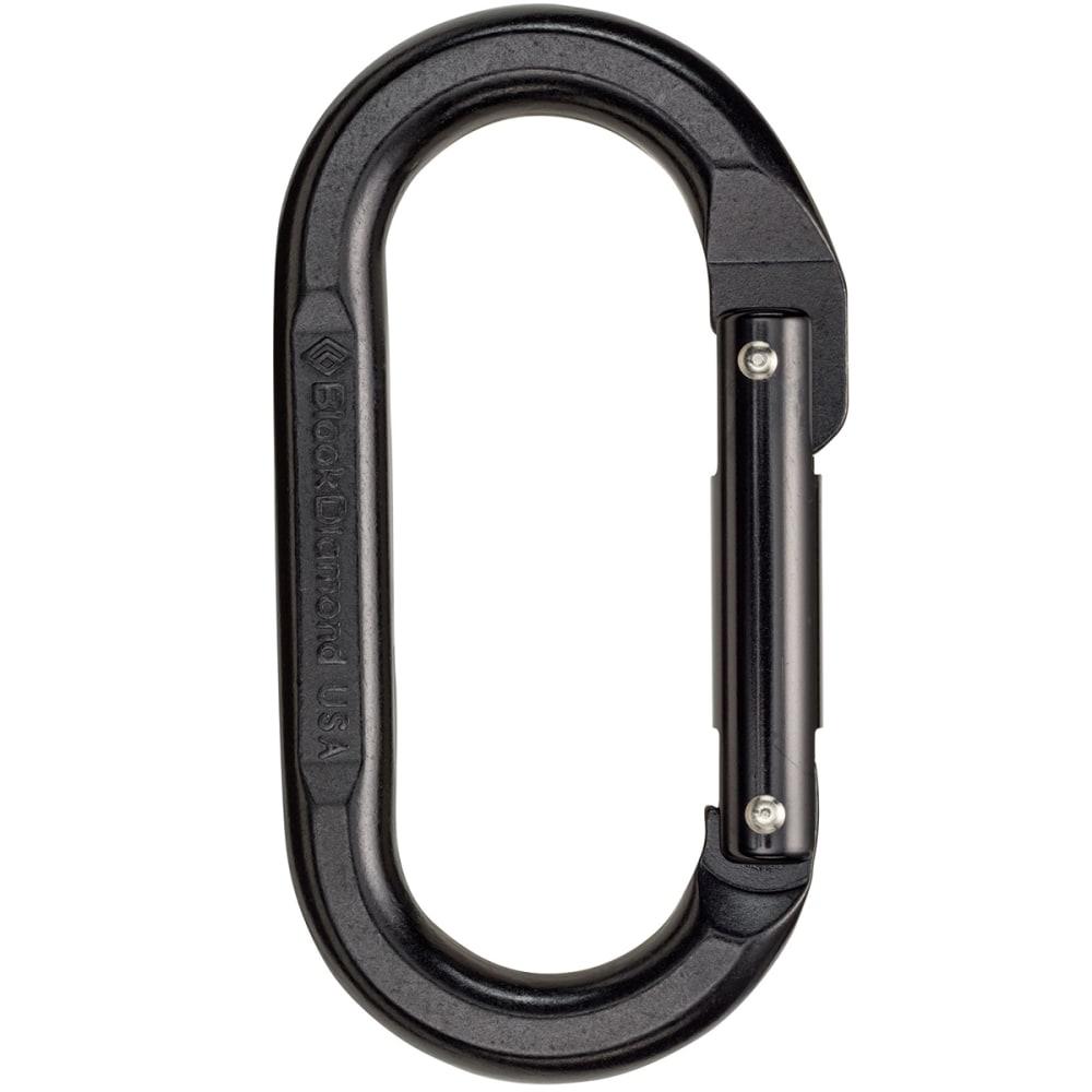 BLACK DIAMOND Oval Carabiner - BLACK