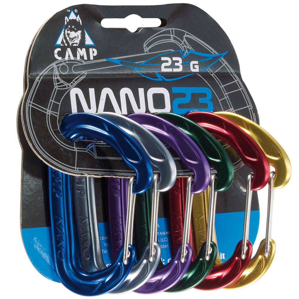 CAMP Nano 23 Carabiner Rack Pack - ASSORTED