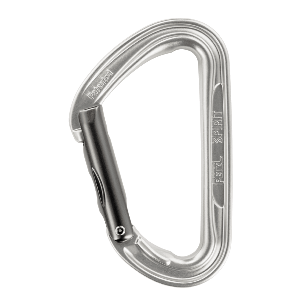 PETZL Spirit Straight Gate Carabiner - GREY