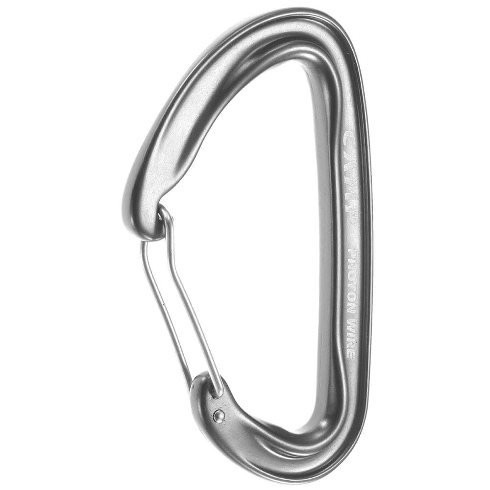 CAMP Photon Wire Straight Gate Carabiner - GRAY