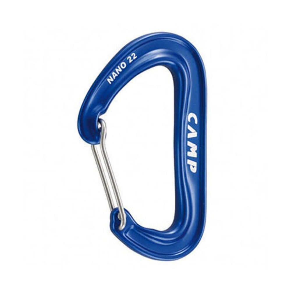 CAMP Nano 22 Carabiner, Blue - BLUE