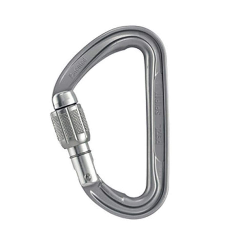 PETZL Spirit Screw-Lock Carabiner - GREY